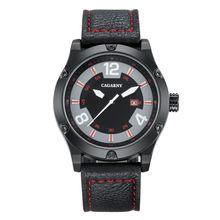 2017 new fashion men's leisure sports outdoor military watches luxury brand quartz watches