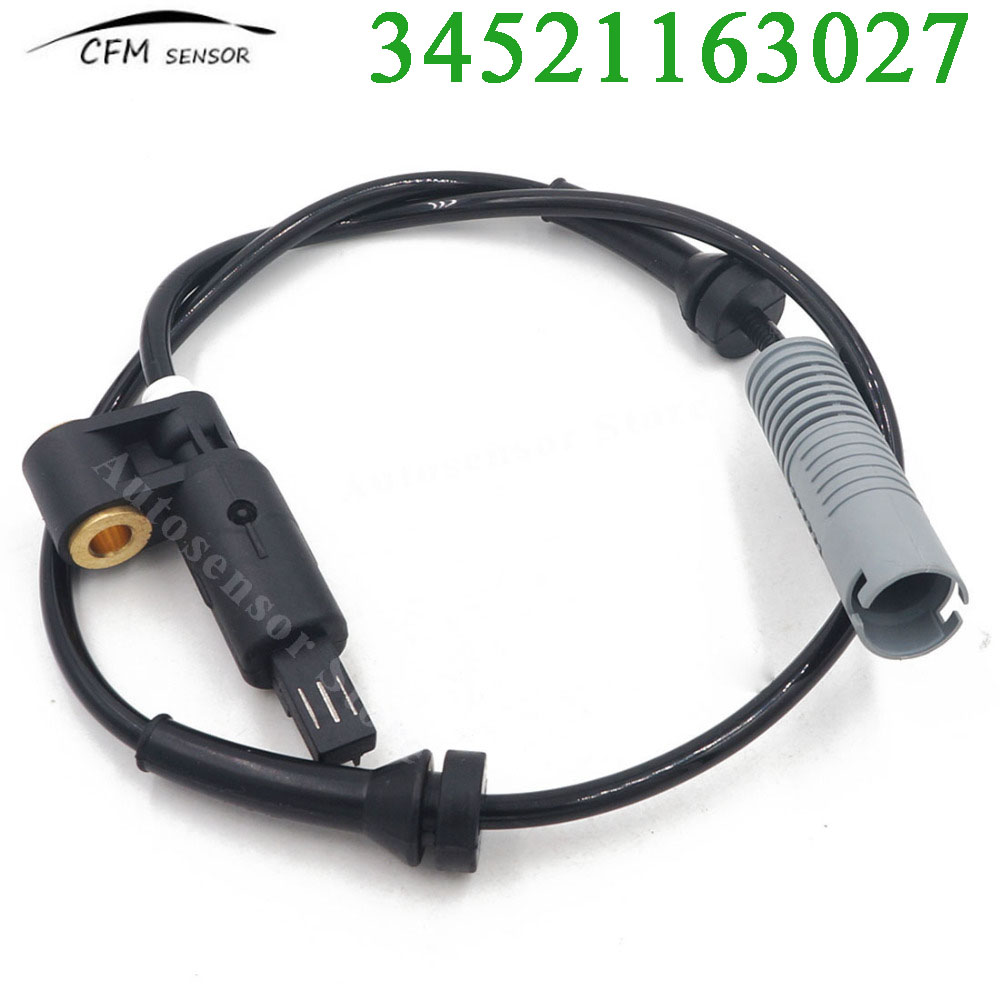 1x ABS WHEEL SPEED SENSOR FRONT FOR BMW 3 SERIES E36 HATCHBACK COUPE 34521163027