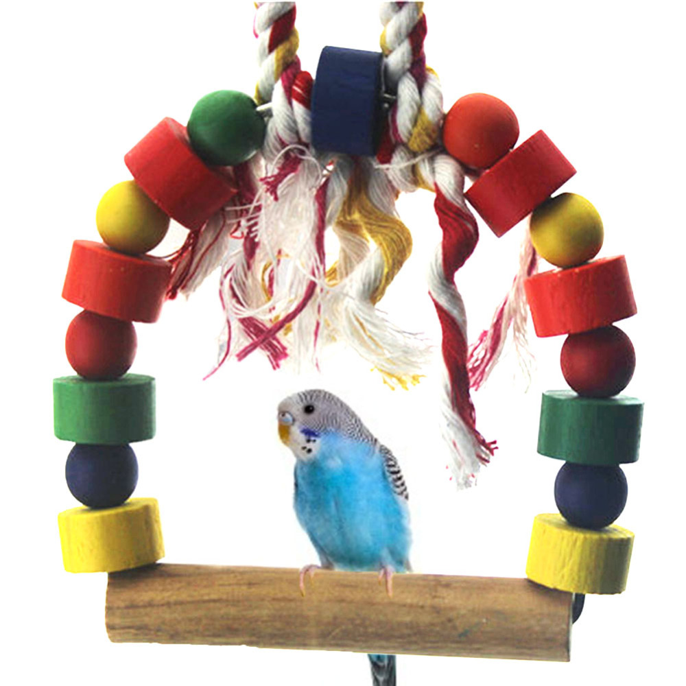 Wood Bird Toys : Online buy wholesale swing stand from china