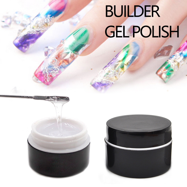 Uv Led Jelly Builder Gel Clear Pink White Colors For Nail Extensions Fashion Make Up