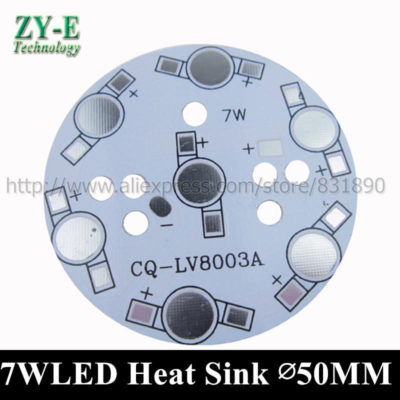 c74ae9dcdbf2f 30 pcs 7 W ampoule LED dissipateur de chaleur plaque de la lampe LED PCB En  Aluminium lumière Plaque de base pour 1 W 3 W puissance de hight led perles  DIY ...
