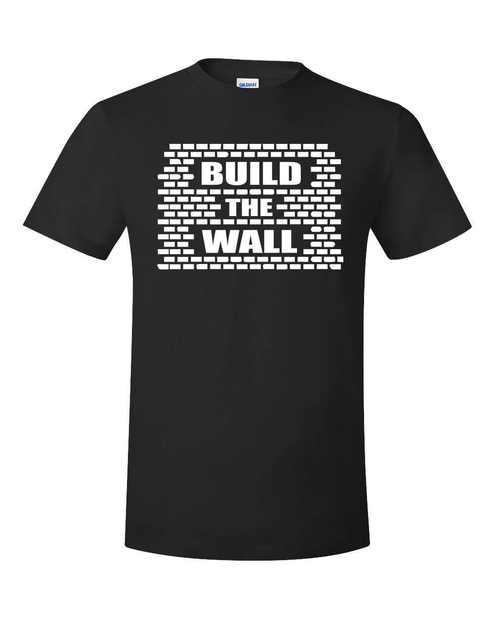 Build The Wall Trump Shirt Political Meme Top Kek Maga America First Usa Border 2019 New Fashion Top Men Design T-Shirt image