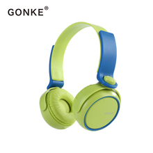 Купить с кэшбэком GONKE New Wired Headphones With Microphone Over Ear Headsets Bass HiFi Sound Music Stereo Earphone For iPhone Xiaomi Sony Huawei
