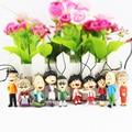 10Pcs/Set Cute Chibi Maruko Chan Figure Toy Sakura Momoko Phone Strap PVC Dolls Toys Great Gift