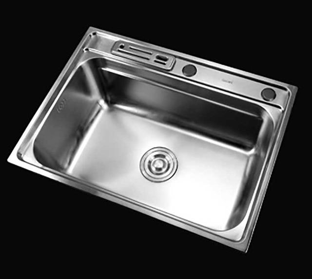 ITAS9912 Stainless Steel Sink Basin 304 Stainless Steel Dish Wash Basin Single Bowl Kitchen Sinks Size 61*45cm