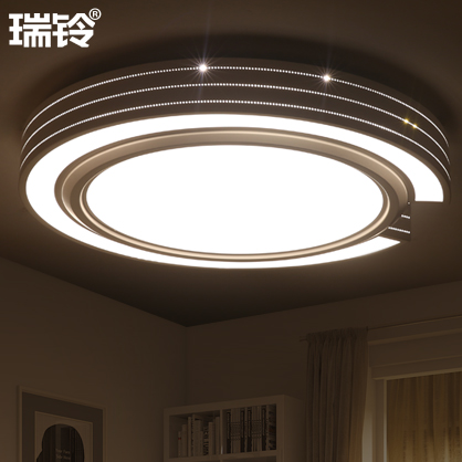 Dome Light Modern Minimalist Solar Eclipse Art Atmosphere Round The Living Room Lamps Lighting Three Color