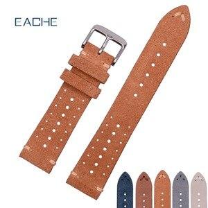 Кожаный ремешок для часов, из натуральной кожи, 18 мм 20 мм 22 мм, много цветов