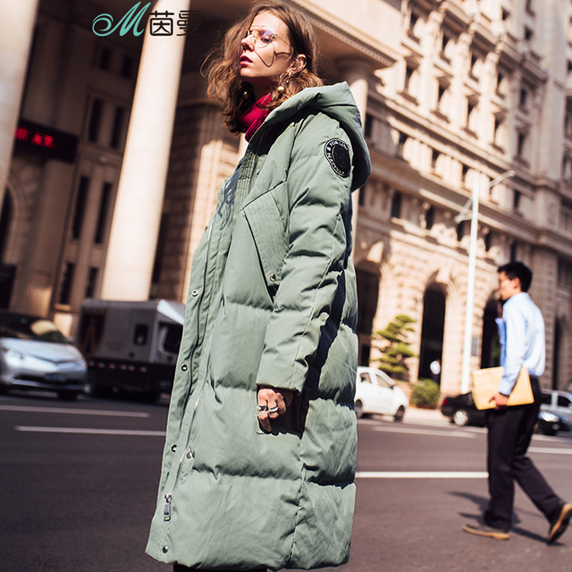 INMAN 2017 Women's Winter New hooded duck down  to warm down coat
