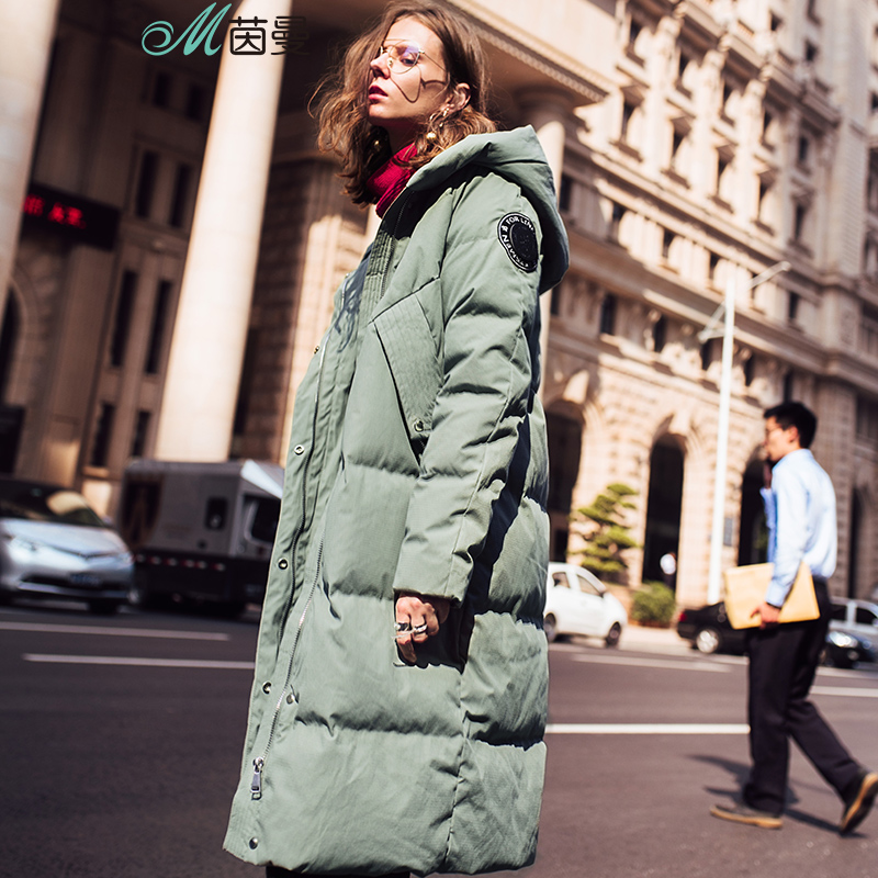 INMAN 2017 Women s Winter New hooded duck down to warm down font b coat b