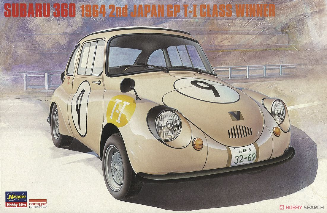 1/24 SUBARU 360 1964 2ND JAPAN GP T-I GLASS WINNER 20322