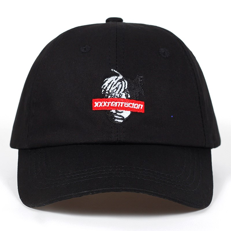 2018 new Cotton Singer xxxtentacion dad hat   baseball     Cap   For Men Women Hip Hop golf Hat Snapback   Cap   Bone Garros