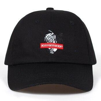 2018 nuevo algodón cantante xxxtentacion papá sombrero gorra de béisbol  para hombres mujeres Hip Hop sombrero de golf sombrero Snapback Garros 00227611f04