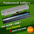 Jigu batería 4400 mah 11.1 v batería del ordenador portátil para acer aspire one a110 a150 zg5 um08a71 um08a72 um08a31 um08a73 um08b74 6 células