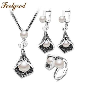 730408d193a9 Almei Oorbellen pendientes de plata para mujer pendientes de cristal con  tachuelas grandes para ...