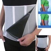 2016 New Men's Adjustable Slimming Waist Belt Burn Belly Fitness Body Fat Burner Shaper 08WG