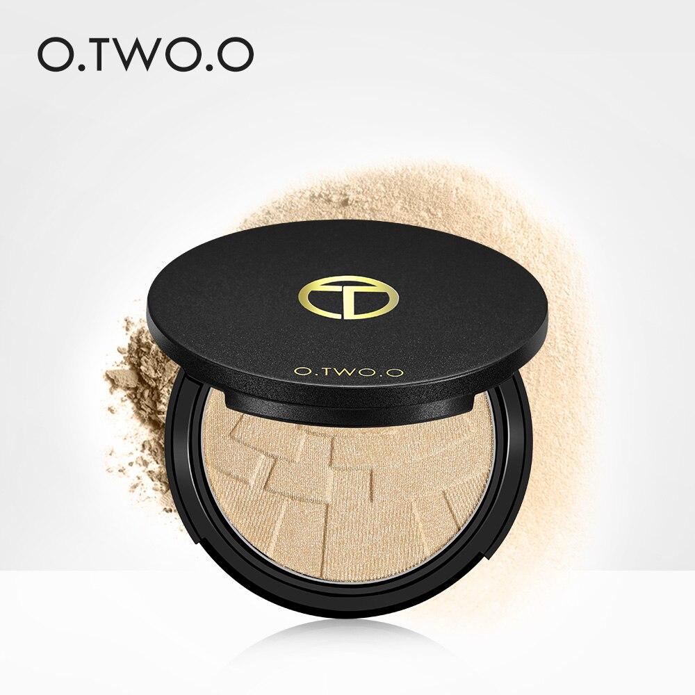 O. два. O лица маркер Glow матовая 4 цвета переливаются пудра палитре Glamorous длительный естественный Профессиональная Косметика ...