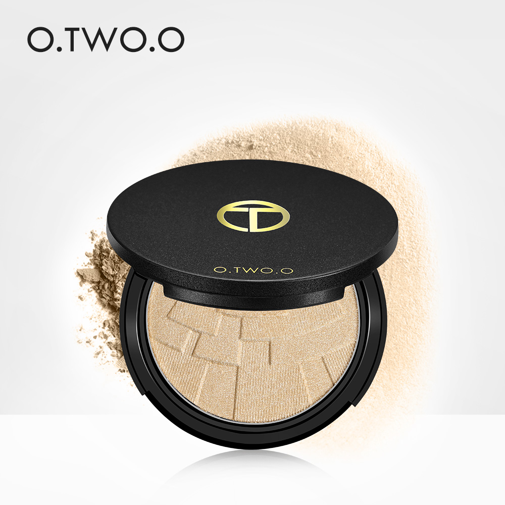O.TWO.O Face Highlighter Glow Matte 4 colour Shimmer Makeup Powder Palette Glamorous Long lasting Natural Professional Cosmetic ...