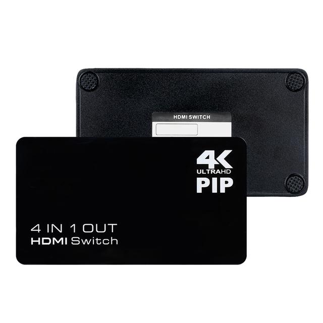 Com as melhores Promoções 4 K HD 4x1 1080 P 3D HDMI Switcher para HDTV DVD STB CAIXA DE TV