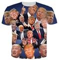 Donald Trump divertido T-Shirt EE. UU. Campañas presidenciales Votan Republicano candidato Tops Tees Hombres camiseta de Las Mujeres