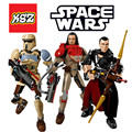 Star Wars Rogue One FiguresK-2SO Chirrut Imwe Baze Malbus Kylo Ren Daeth Vader toys building blocks compatible Lepin