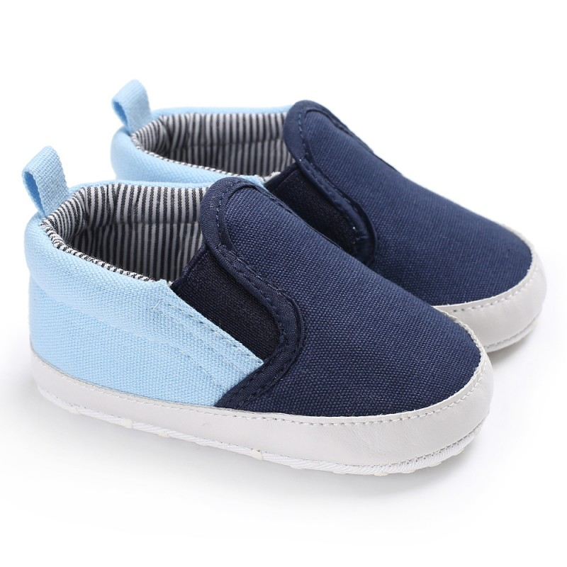 Canvas First Walker Cartoon Baby Boy Girls Shoes Bebe Toddler Moccasins 0-24M Non-slip Soft comfortable Bottom Shoes