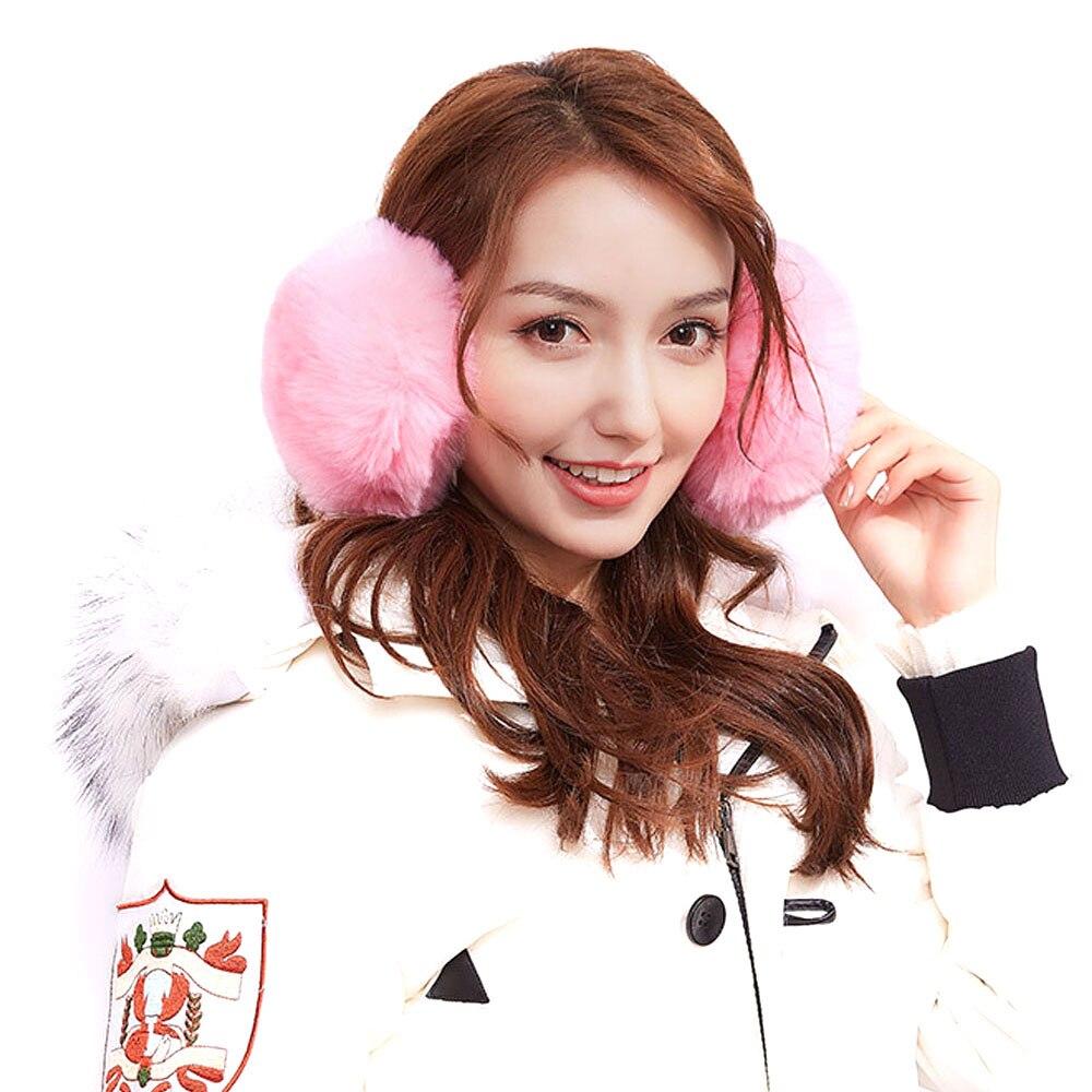 1Pcs Warm Earmuffs Faux Rabbit Hair  Ear Warmer Student Lovely Winter
