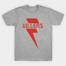 af9439915 LEQEMAO Men T-shirt Plus Size Tee Homme Short Sleeve Casual the Killers  Rock Band Letter Printed TShirts Camiseta Cotton T shirt