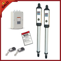 AC220V Electric Gates Electric Swing Gate Opener Driving Total 400 KG Gate Motor With 2 Remote