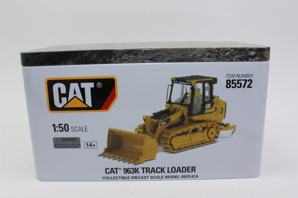 US $85 5 10% OFF|CAT CATERPILLAR 963K TRACK LOADER WITH OPERATOR 1/50 SCALE  METAL MODEL BY DIECAST MASTERS DM85572-in Diecasts & Toy Vehicles from