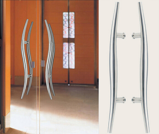 Architectural Door Handle 304 Grade Stainless Steel Snake Pull Handles 38*600mm For Wooden/ & Architectural Door Handle 304 Grade Stainless Steel Snake Pull ...