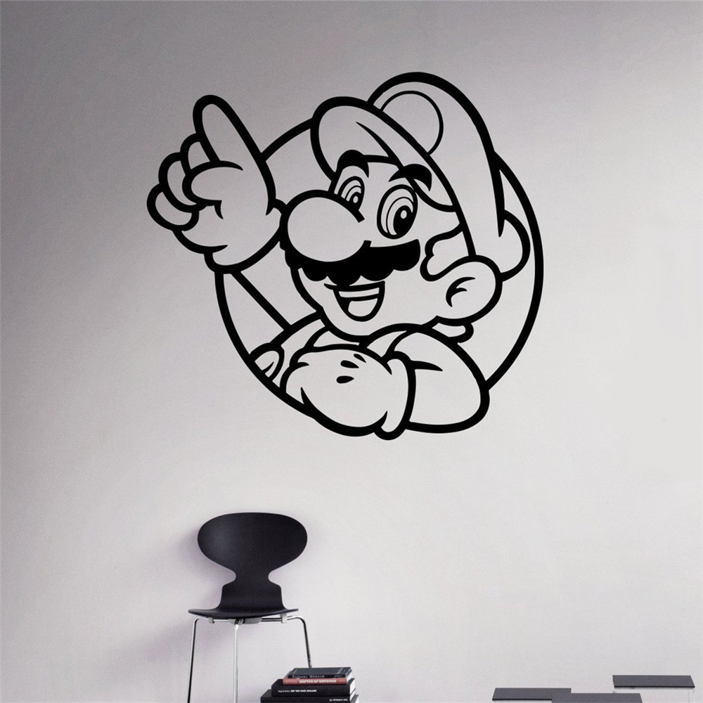 popular mario wall mural buy cheap mario wall mural lots