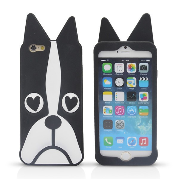 4beff5b299b In Stock Marc.Jacobs Cute Cartoon Animal Design Love Dog/Zebra/Owl Soft  Silicone Phone Case Cover For iPhone 6/6 Plus Case Coque