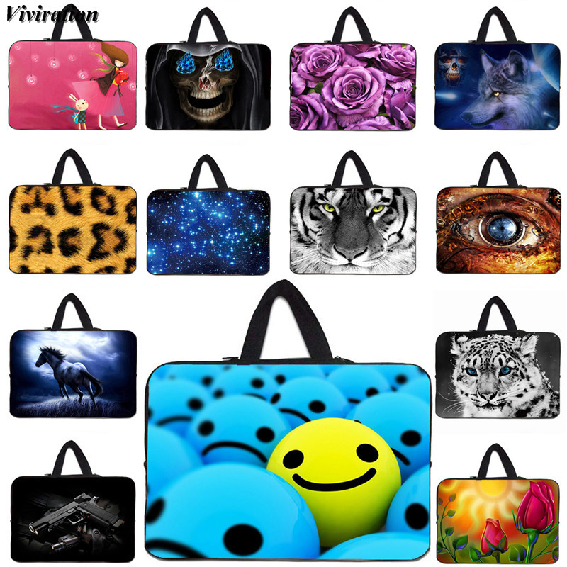 Viviration Tablet Cover 7 17 13 12 10 14 15 Inch Laptop Bag For HP Pavilion Dell Inspiron PC Computer 17.3 Case Fashion Handbag