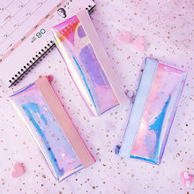 New Arrival Creative 19.5x8.5x21.5cm Colorful Stationery Pen Pencil Case Cosmetic Bag Travel Makeup Bag High Capacity HotSale#35(China)
