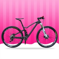 High Garde 29er MTB Suspension Bike XC Carbon T700 Mountain Bicycle