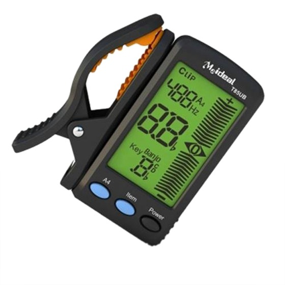 New meideal T85UB Clip on Digital LCD Electric Ukulele Banjo Tuner
