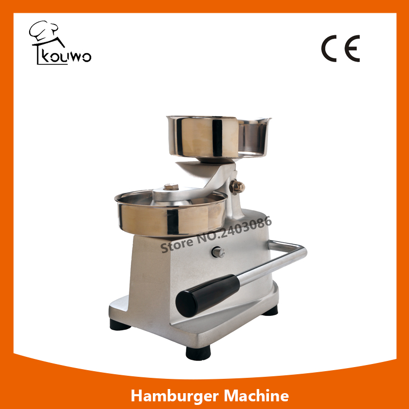 commercial food machinery stainless steel 130mm manual meat hamburger patty press making machine for sales manual metal bending machine press brake for making metal model diy s n 20012