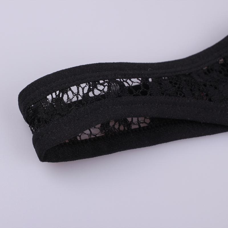 LGBT Men Lace  Thong See Through Seductive Penis Undies