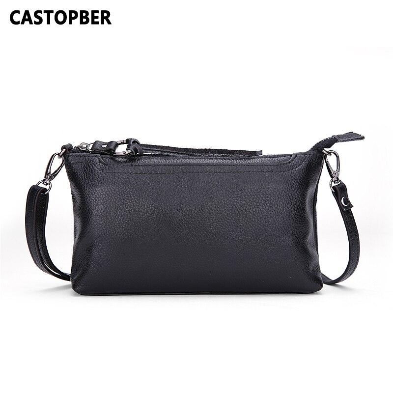 купить Women Genuine Leather Handbag First Layer Cowhide Leather Handbag Women Messenger Bags Cross Body Bags Shoulder Tassel Famous недорого