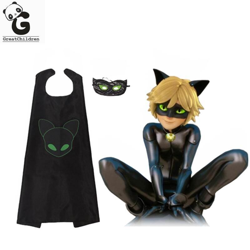 Супергерой кот и божья коровка