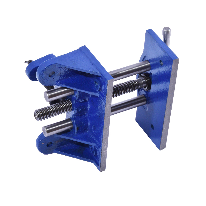 цена на High Quality cast iron Material Table Bench Clamp Screw Clamp Lock Woodworking Table Clamp Wooden fixture vise Clamping