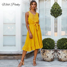 Women Summer Boho Lace Long Maxi Dress Evening Party Beach Dress Sundress V neck Lace Summer Sleeveless Backless Elegant Dresses fashion women summer boho long maxi dress evening party beach dress formal dresses sleeveless