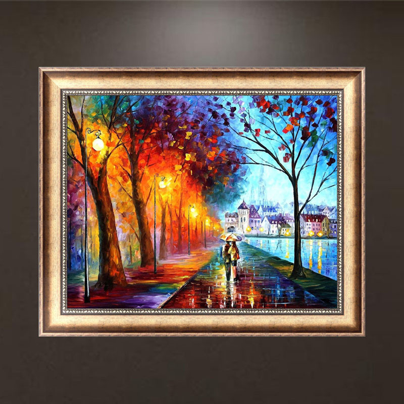 5d diamond lovers embroidery painting cross cross