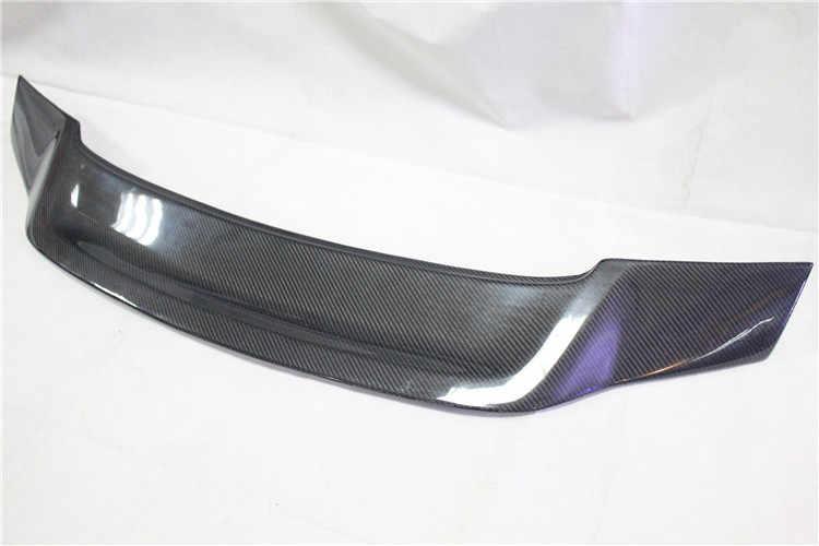 Aksesoris Mobil Renntech Style Serat Karbon Batang Spoiler untuk Benz W218 CLS300 CLS350 CLS500 CLS550 CLS63 AMG 2012-2017