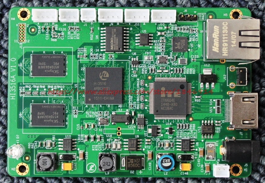 US $420 0 |free shipping Hi3516A development board H 265/H 264 SDI/HDMI SDK  input 1080P60-in Electronics Stocks from Electronic Components & Supplies