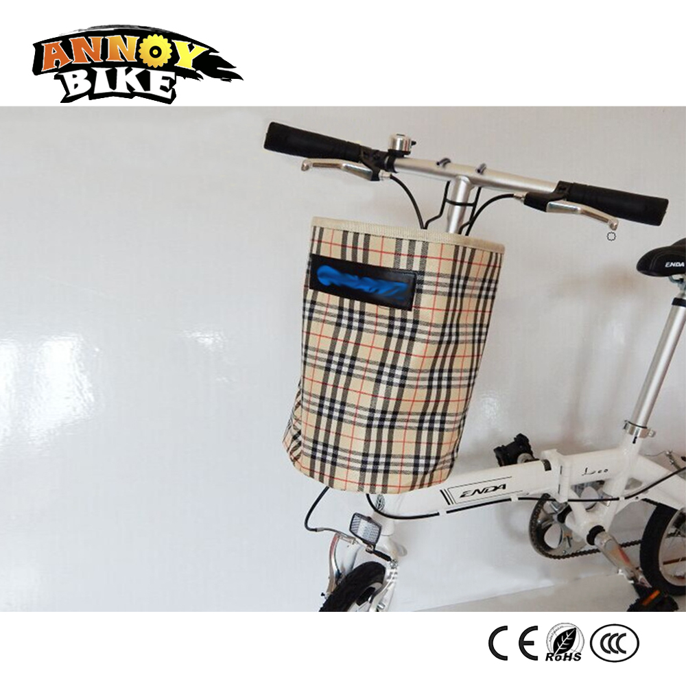 Bicycle Basket Pouch Bike Detachable Front Carrier Waterproof With ...