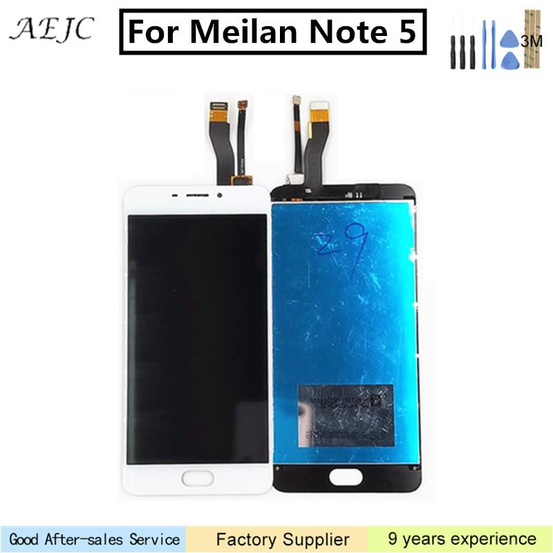 """5.5"""" For Meizu M5 Note For Meilan Note5 M621Q M621M M621C M621H LCD Display Touch Screen Digitizer Assembly + free 3M Sticker"""