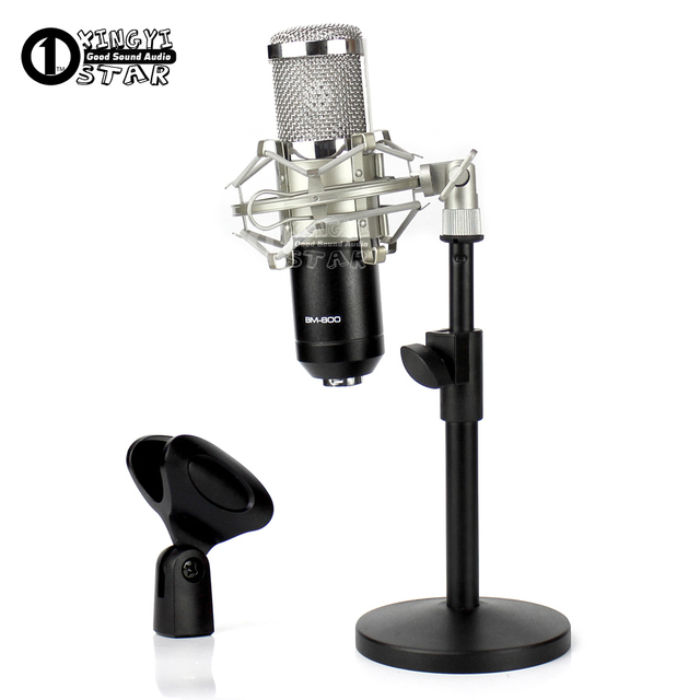 Desktop Stand Microphone Shock Mount Spider Suspension Shockmount Mic  Holder For Telefunken PC AR 51 70 M80 M81 CU29 AK47 BM 800-in Microphone