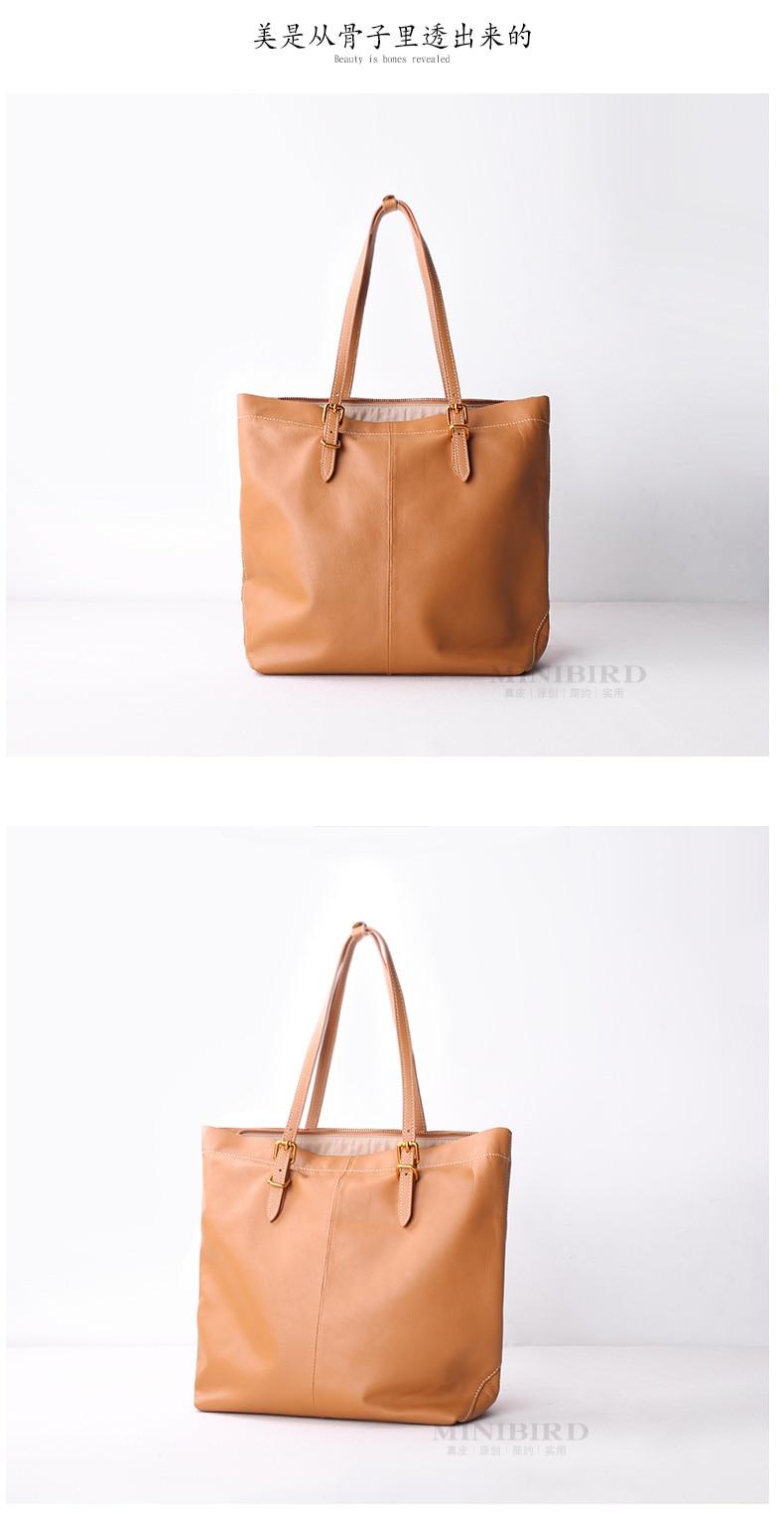 Genuine Cowhide Leather Luxury Handbag Women Shoulder Bag Lady Tote Shopping bag