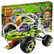 451pcs Bela 9760 Ninja Fangpyre Truck Ambush Building Children Educational Toys Compatible With Lego